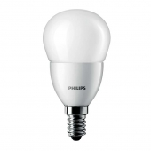Лампа PHILIPS CorePro luster ND 6-40W E14 827 P48 FR