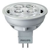 Лампа PHILIPS Essential LED 4.2-35W 2700K MR16 24D