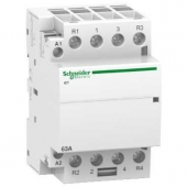 Контактор Schneider Electric iCT Acti9 63A 2Н.O+2Н.З 230 V A9C20868