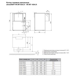 Котел газовый Vaillant atmoCRAFT VK INT 854/9