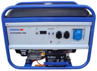 Генератор бензиновый ENDRESS ECOPOWER - LINE ESE 4000 BS ES