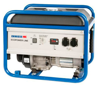 Генератор бензиновый ENDRESS ECOPOWER - LINE ESE 3000 BS №1