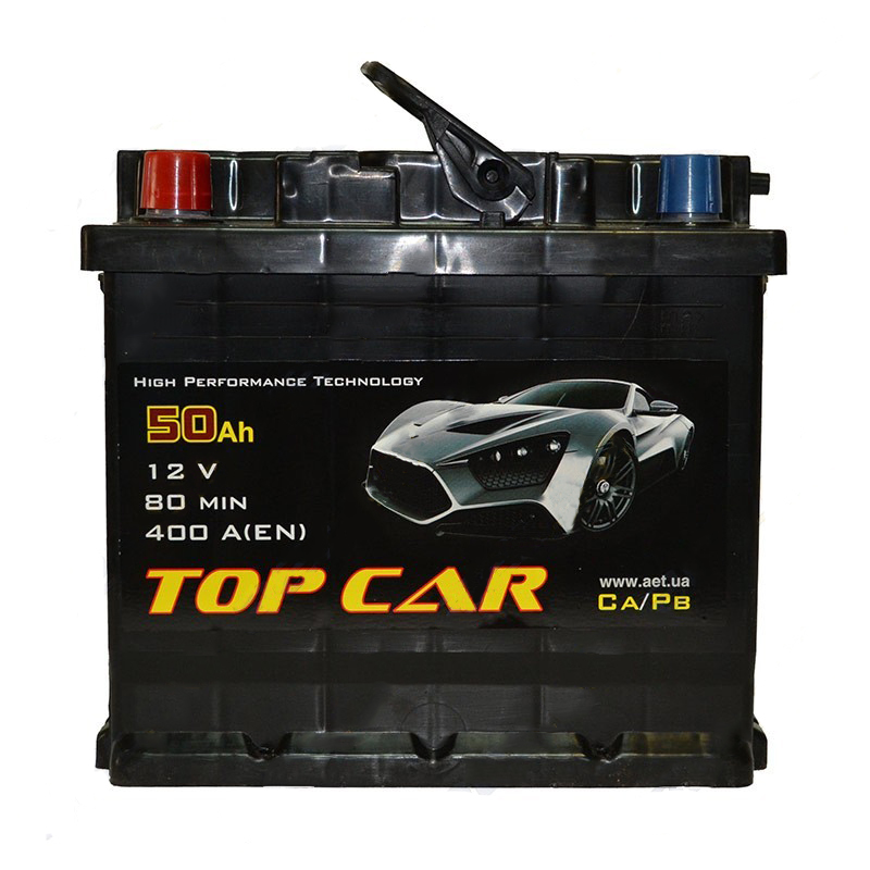 �������������� ������� TOP CAR Profi 6��-50Ah L+ 400A (EN)