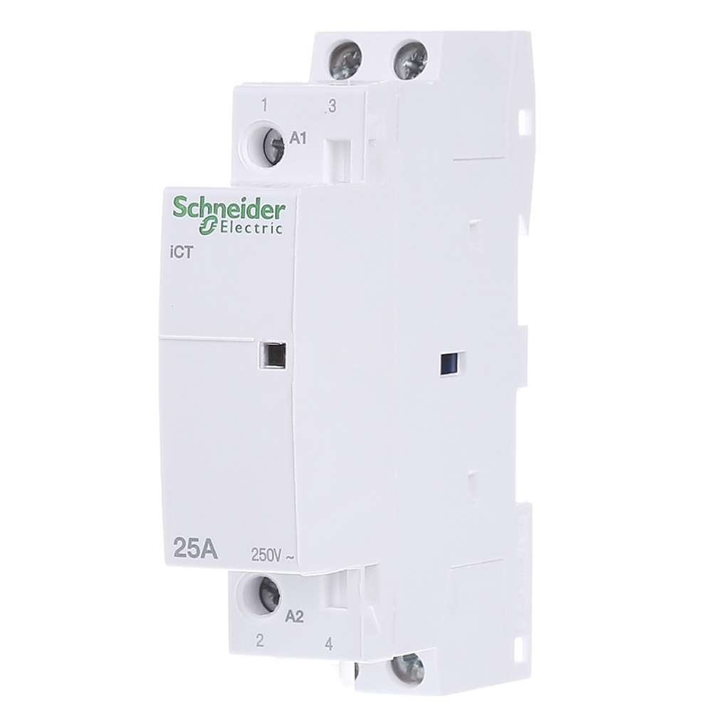Контактор Schneider Electric iCT Acti9 25A 2Н.O 230 V A9C20732 №1