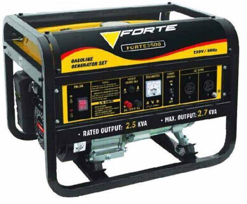 """Результат пошуку зображень за запитом """"бензиновый генератор Forte """""""