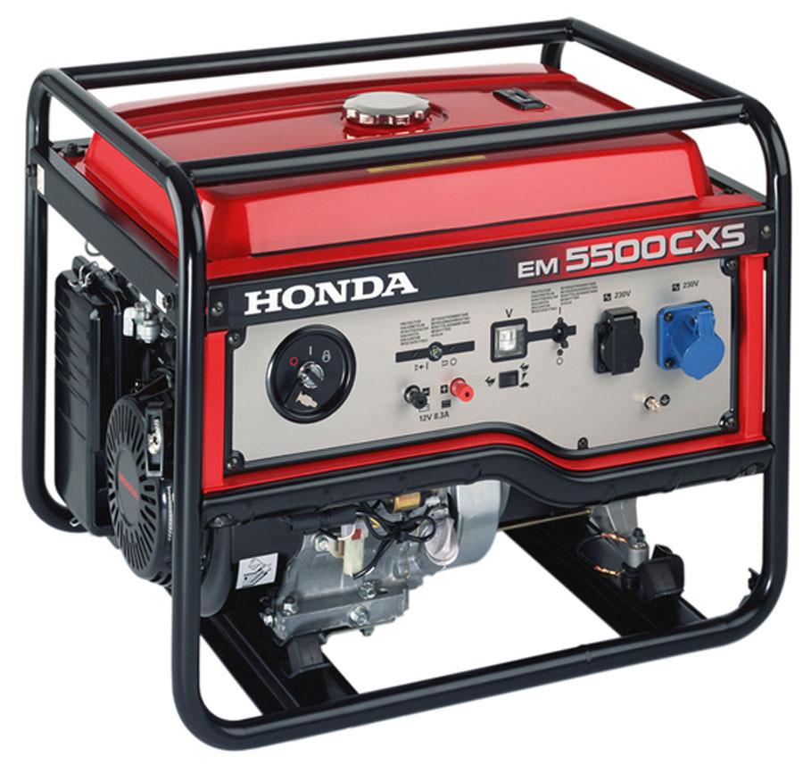 генератор дизельный honda eм 5500 cxs