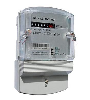Zyabkin™ | электросчетчик ник 2102-02 м2в (5-60а). Цена: 480 грн.