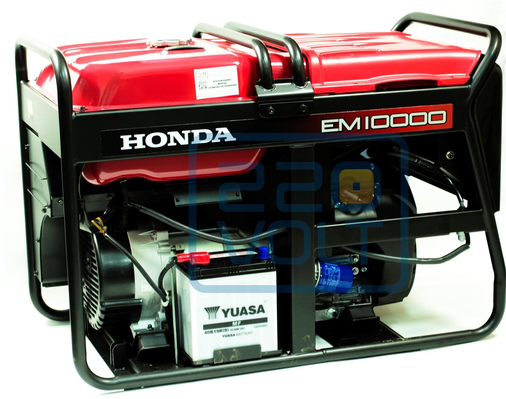 генератор honda em10000